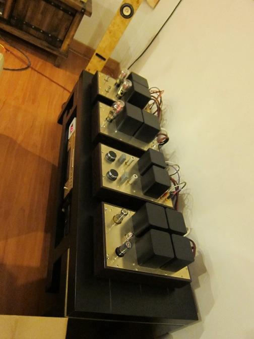 Lee's 2A3 tube amplifier