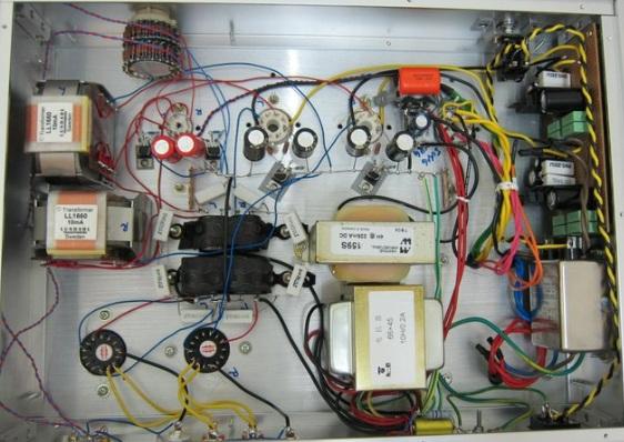 2A3 amplifier internal