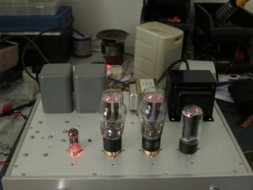 6B4G / 2A3 Tube Amplifier