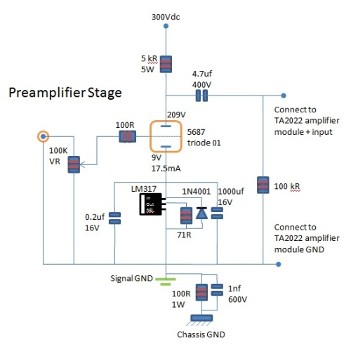 5687 Preamp Schematic