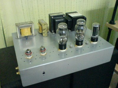 6B4G SET Tube Amplifier