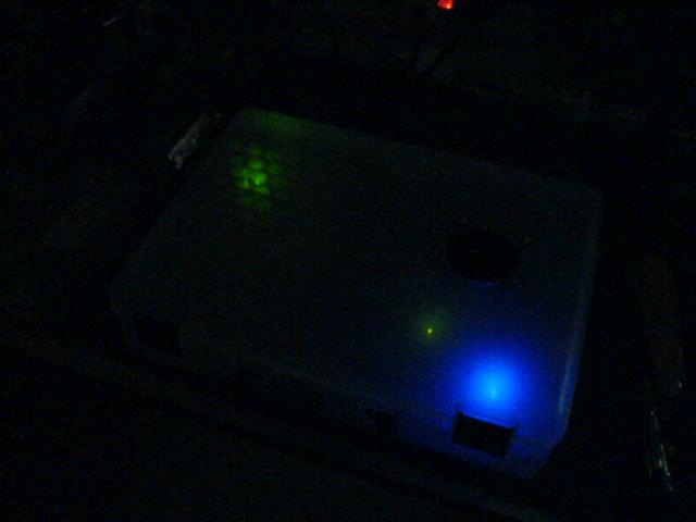 Tripath TK2050 Amplifier Night Look