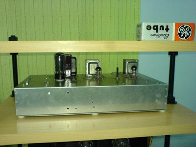 6C45 SET Tube Amplifier