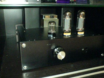 EL34 Single Ended Tube Amplifier