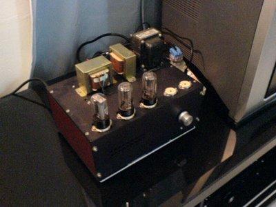 6SN7 Tube Pre-Amplifier