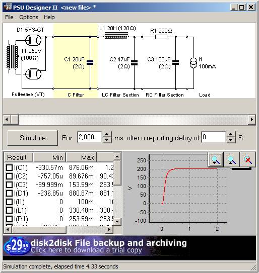 capacitor input power supply