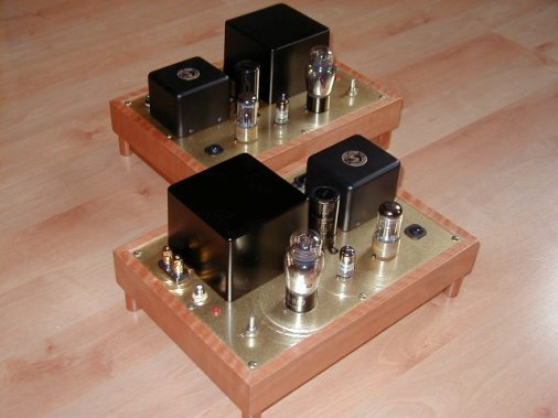 6J7 45 Direct Heated Single Ended Triode Amplifier