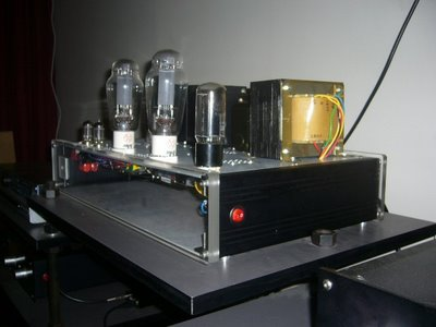 Carmen 300B Amplifier side 1