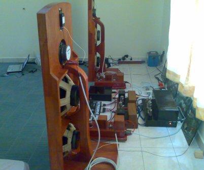 Open Baffle Speaker System