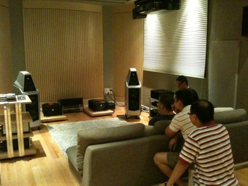 Wilson Audio Setup