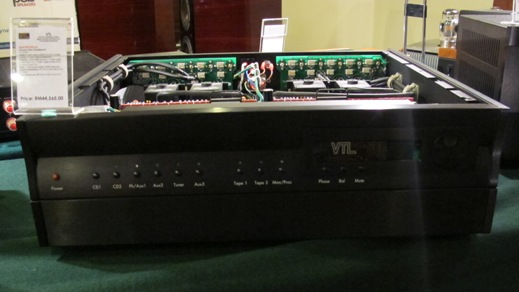VTL Tube Amps front plate