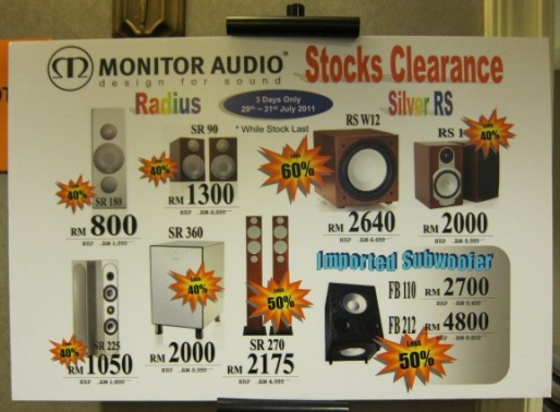 Monitor Audio Sales!