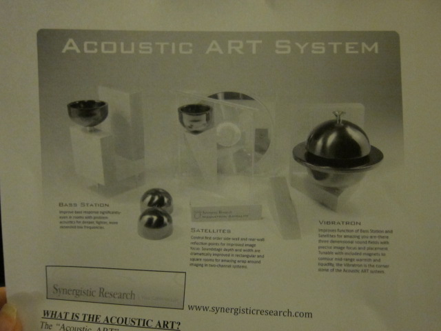 Acoustic Art System