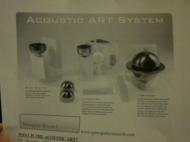 Acoustic Art System