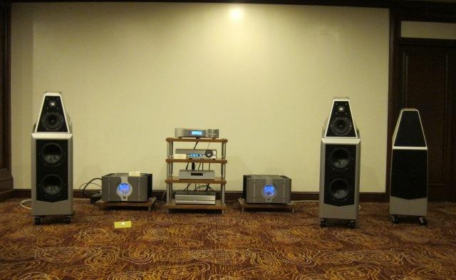 Wilson Audio and Passlabs Amplifier