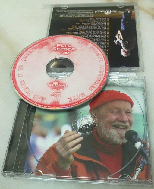 Pete Seeger at 89 album