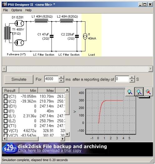 EZ81 Tube Rectified Power Supply