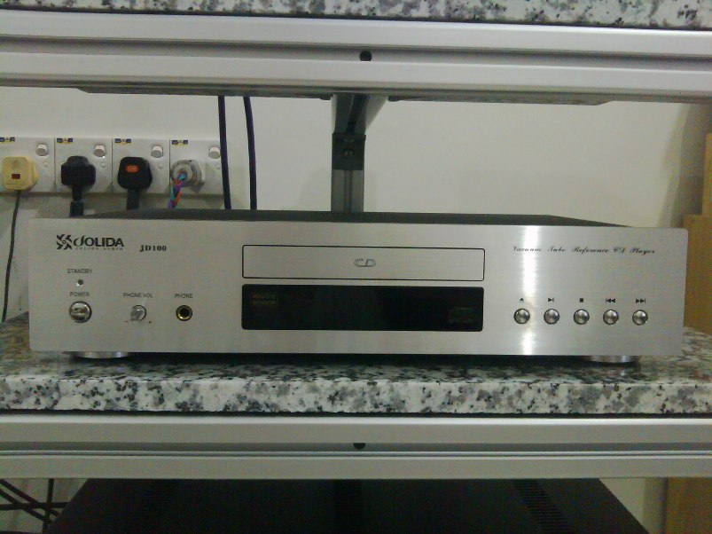 Jolida JD100 tube CD player