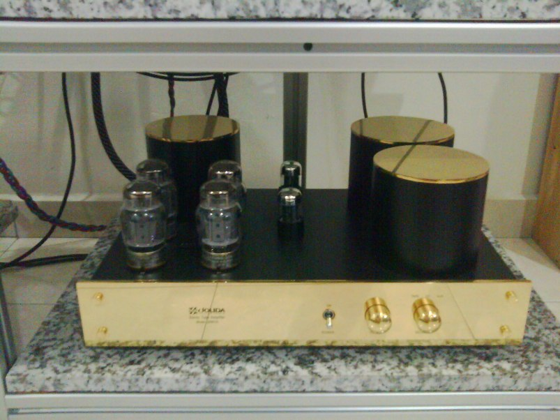 Jolida JD801A tube amplifier