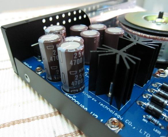 KingRex PSU Capacitors