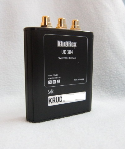KingRex UD384 back