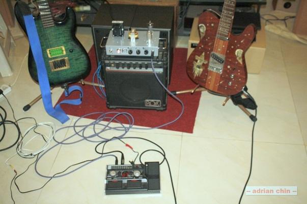 MOD 102 guitar amplifier