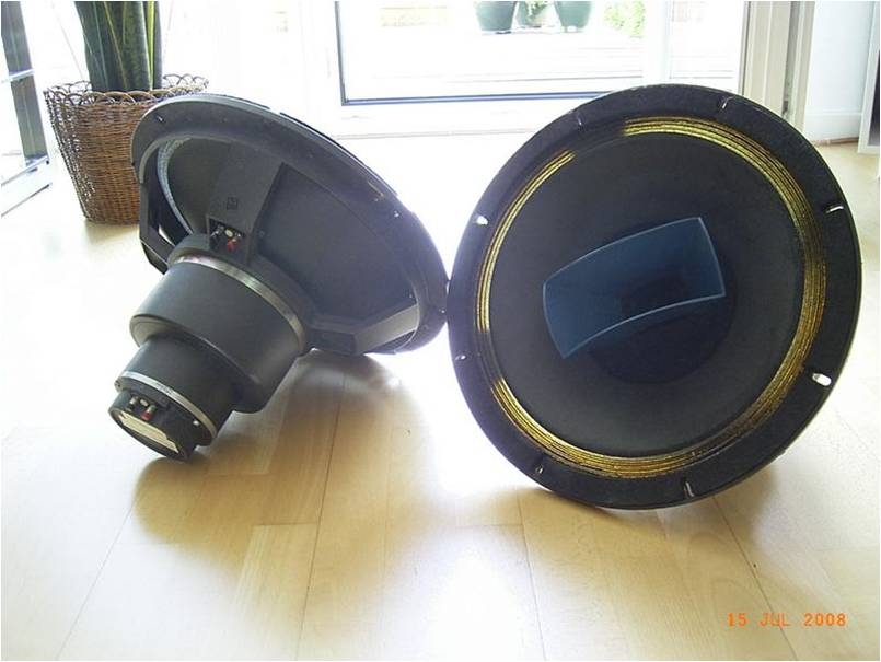 Altec 604-8G with Urei horn