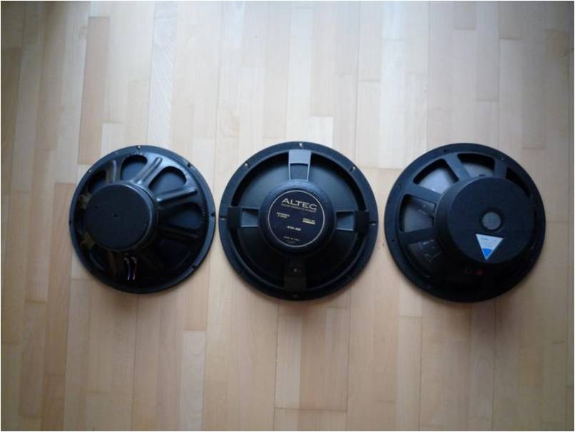Altec bass drivers