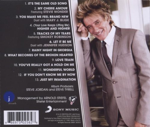Rod Stewart Soulbook back cover