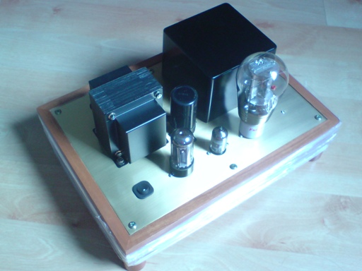 45 Direct Heated Single Ended Triode Amplifier