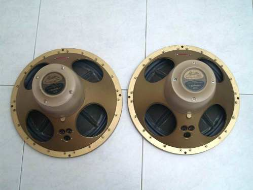 Tannoy HPD 385 back view
