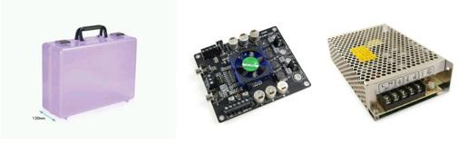Tripath TK2050 Amplifier Components