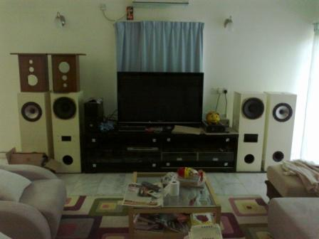 Ken audio system for home theater use