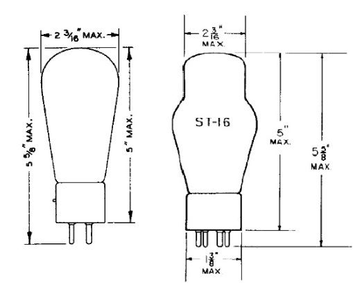 Vacuum Tube Envelope