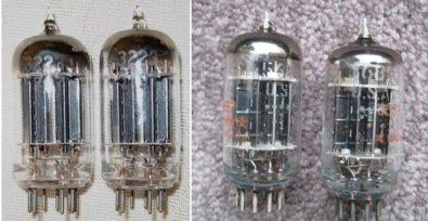 5687 Dual Triode Vacuum Tube