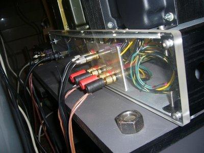 Carmen 300B Amplifier Back 1