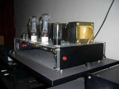 Carmen 300B Amplifier side 1