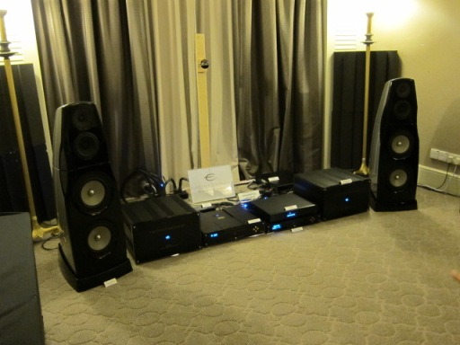 Electrocompaniet amps and speakers