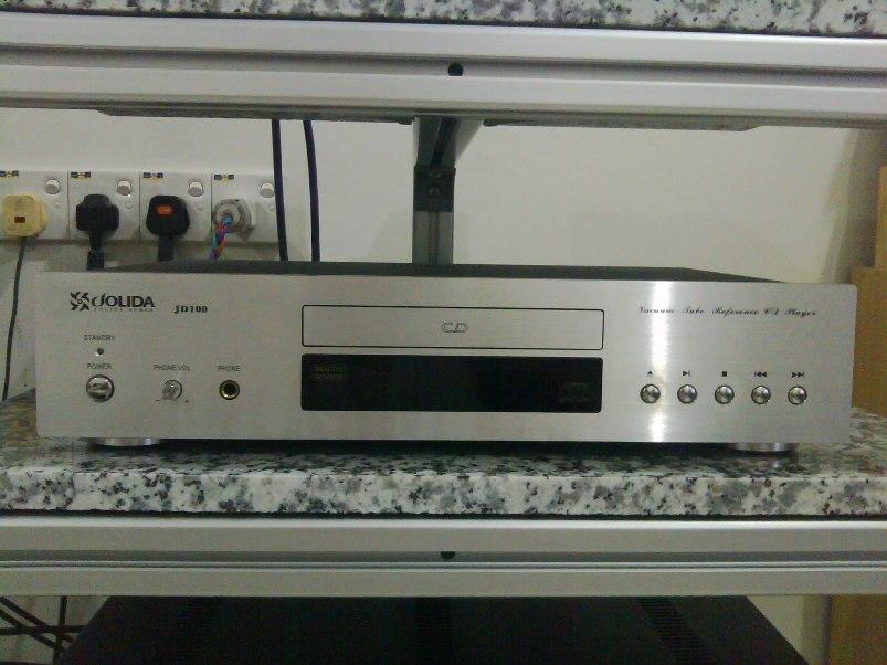 Jolida JD100 tube CD player