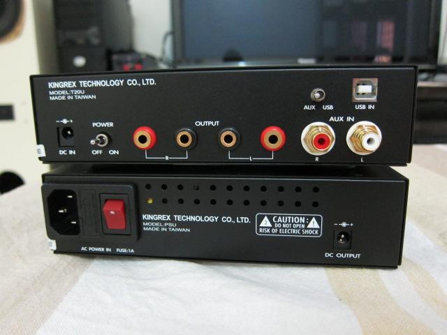 KingRex T20U And PSU Back Panel