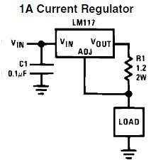 LM117 constant current source