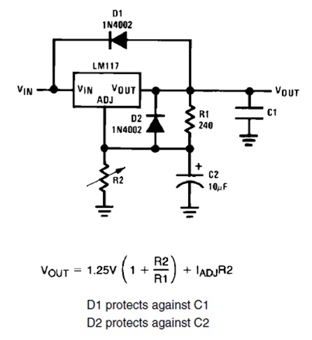 LM317 Regulator