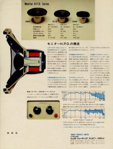 Tannoy Monitor HPD Catalog
