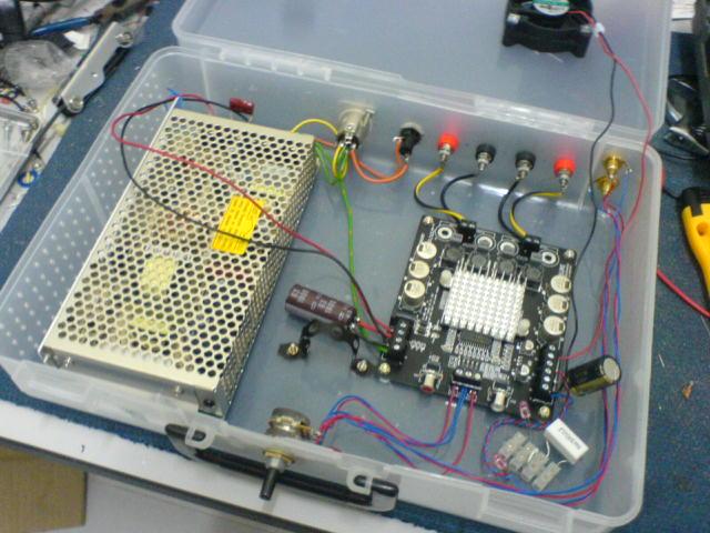 TK2050 Amplifier Internal