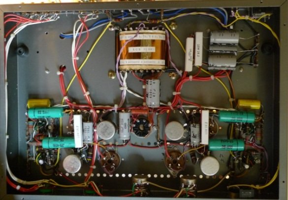 VT25 Push Pull Amplifier
