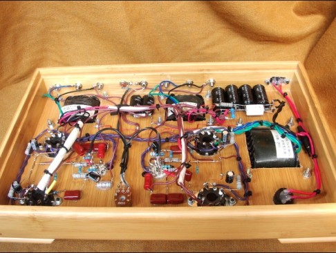 6V6GT Amplifier Internal