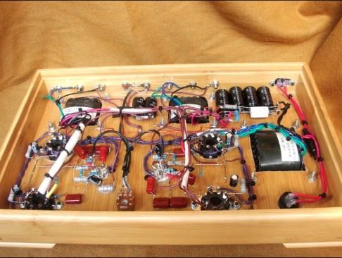 6V6GT Amplifier Internal