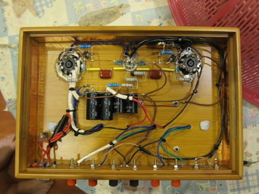 Zephyr6SE Amplifier Internal